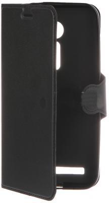 Чехол-книжка Red Line Book Type для Asus ZenFone 2 ZE500CL лазерная фактура черный