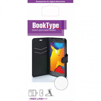 Чехол-книжка Red Line Book Type для Sony M5 гладкий черный чехол книжка euro line jacketcradle для wileyfox swift 2 черный