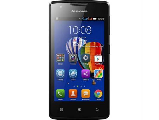 "Смартфон Lenovo A1000 черный 4"" 8 Гб GPS Wi-Fi PA1R0025RU"