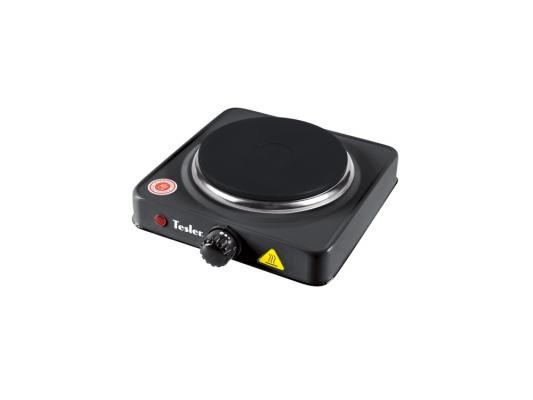 Электроплитка Tesler PE-13 черный мультиварка tesler 500 челябинск