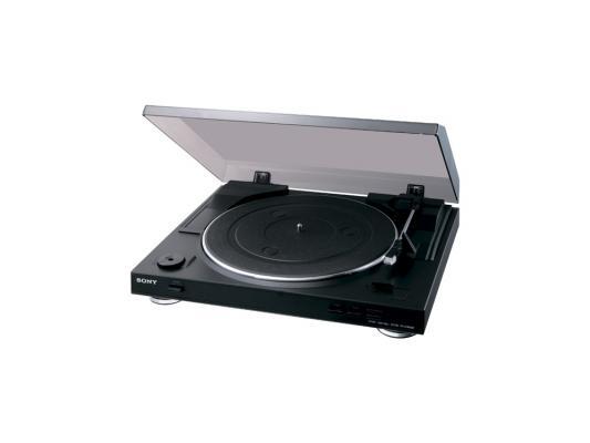 Виниловый проигрыватель Sony PS-LX300USB черный