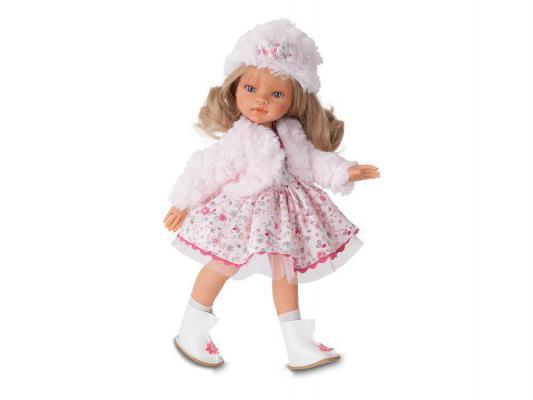 Кукла Munecas Antonio Juan Лаура зимний образ 33 см 2582Bl