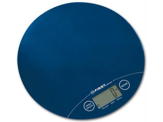 Весы кухонные First 6400-1 синий