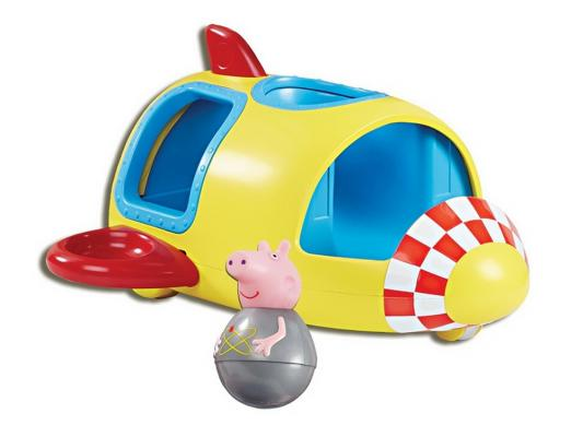 Игровой набор Peppa Pig Ракета Пеппы - неваляшки (с фигуркой Пеппы) 28796 игровой набор росмэн т м peppa pig каталка динозавр с фигурками
