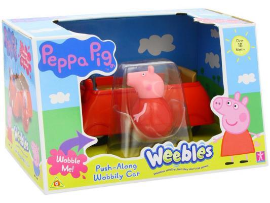 Игровой набор Peppa Pig Машина Пеппы - неваляшки (с фигуркой Пеппы) от 3 лет 28794 peppa pig peppa pig игровой набор каталка динозавр с фигуркой пеппы