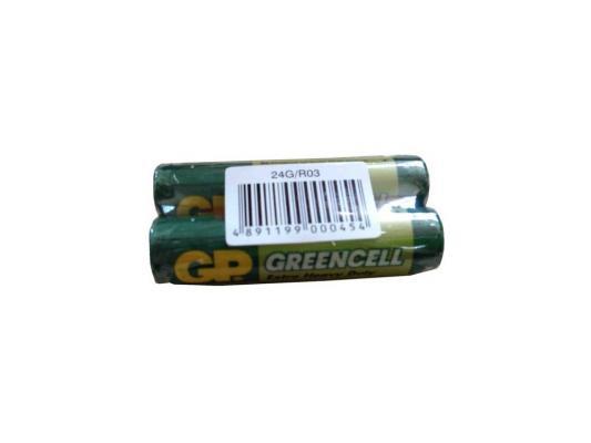 Батарейки GP 24G-OS2 R03 AAA 2 шт батарейки panasonic everyday power silver aaa 2 шт