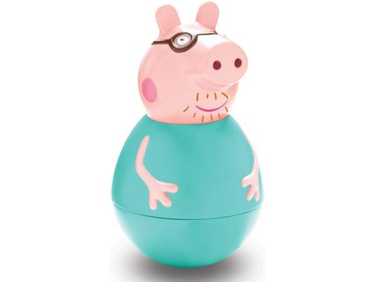 Фигурка Peppa Pig неваляшка Папа Пеппы от 18 месяцев 28798 фигурка peppa pig неваляшка папа пеппы 28798