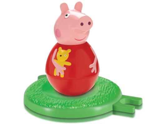Фигурка Peppa Pig неваляшка Пеппа от 18 месяцев 2 предмета 28801, унисекс, Машинки и фигурки  - купить со скидкой