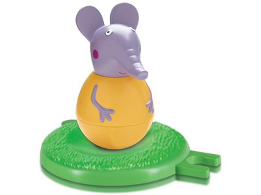 Фигурка Peppa Pig неваляшка слоник Эмили от 18 месяцев 2 предмета 28804 фигурка peppa pig неваляшка зебра зои 2 предмета 28807