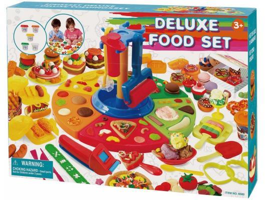 Набор для лепки Playgo Делюкс от 3 лет 8580 всё для лепки playgo набор с формами и инструментами