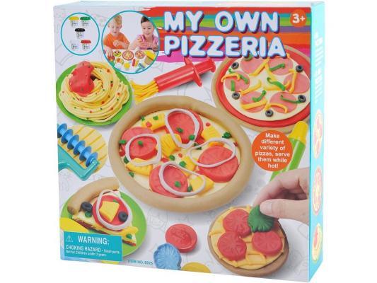 Набор для лепки Playgo Моя пиццерия от 3 лет 8225 всё для лепки playgo набор с формами и инструментами