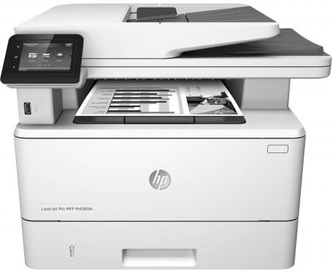 МФУ HP LaserJet Pro MFP M426fdn F6W17A ч/б A4 38ppm 600x600dpi Ethernet USB