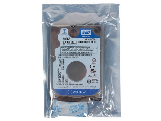 "Жесткий диск для ноутбука 2.5"" 500 Gb 5400rpm 16Mb cache Western Digital SATAIII WD5000LPCX"