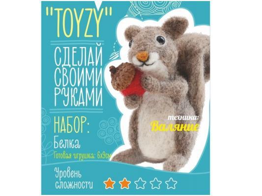 Набор для валяния Toyzy Белка от 6 лет TZ-F013