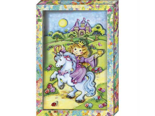 Купить Набор для изготовления картин Клевер Принцесса от 5 лет АБ 21-121