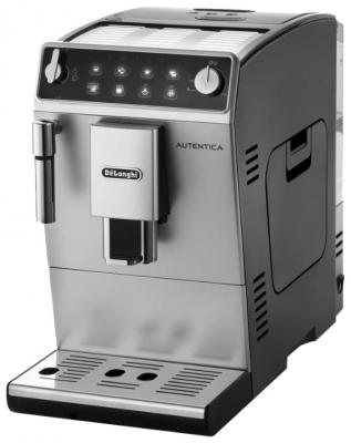 Кофемашина DeLonghi ETAM 29.510 SB серебристый delonghi autentica plus etam 29 510 sb