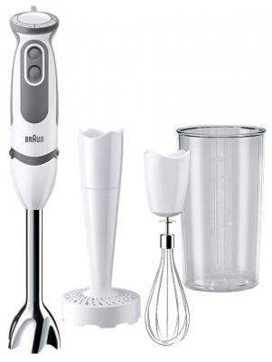 Блендер погружной Braun MQ 5007 Pure 750Вт серый белый блендер погружной braun mq 5007 puree