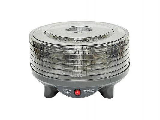 Сушка для овощей и фруктов Ves VMD-4 300Вт черный сушилка ves vmd 6