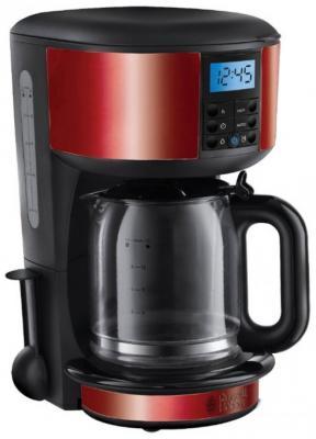 Кофеварка Russell Hobbs 20682-56 черный красный russell hobbs 20682 56 legacy red кофеварка