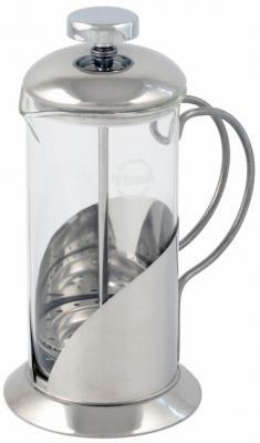 Френч-пресс Tima Тирамису FT-600 серебристый 0.6 л металл/стекло
