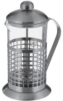 Френч-пресс Tima Бисквит PB-350 серебристый 0.35 л металл/стекло цена и фото