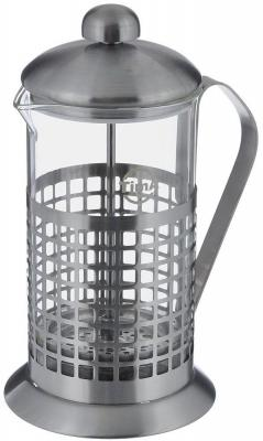 Френч-пресс Tima Бисквит PB-100 серебристый 1 л металл/стекло
