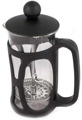 Френч-пресс Tima Маффин PM-350 чёрный 0.35 л пластик/стекло френч пресс tima бисквит pb 350 0 35 л металл стекло серебристый