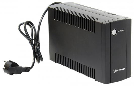 ИБП CyberPower 650VA/360W UT650E RU черный cyberpower ut650e 650va 360w линейно интерактивный ибп