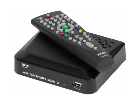 Тюнер цифровой DVB-T2 BBK SMP018HDT2 черный original dvb t satlink ws 6990 terrestrial finder 1 route dvb t modulator av hdmi ws 6990 satlink 6990 digital meter finder