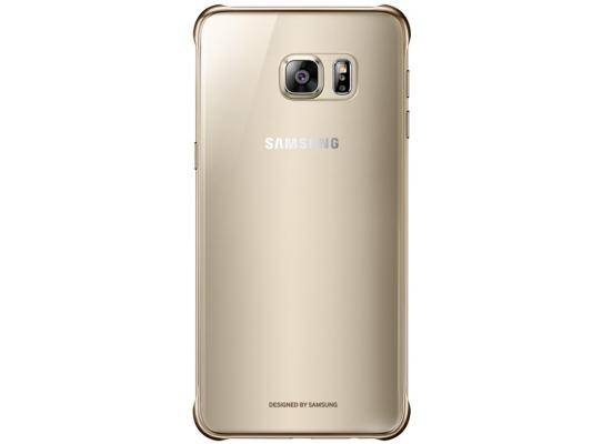 Чехол Samsung EF-QG928CFEGRU для Samsung Galaxy S6 Edge Plus ClearCover G928 золотистый прозрачный samsung galaxy s6 edge plus sm g928f 32gb lte black