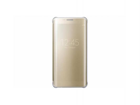 Чехол Samsung EF-ZG928CFEGRU для Samsung Galaxy S6 Edge Plus ClVCover G928 золотистый