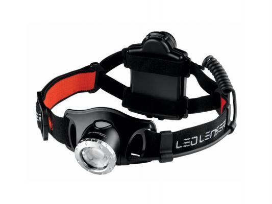Фонарь Led Lenser H7.2 7297 светодиодный налобный черный