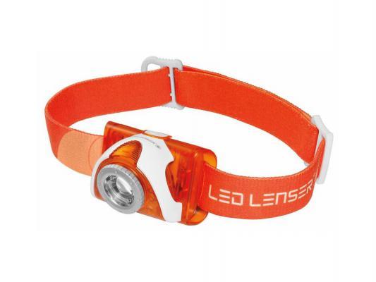 Фонарь Led Lenser SEO3 6104 светодиодный налобный черный