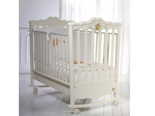 Кроватка-качалка Baby Expert Romantico (крем) кровать baby expert кровать baby expert abbracci by trudi крем