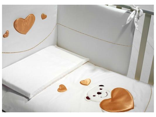 Постельный сет Baby Expert Romantico (белый) постельный сет baby expert tenerezze белый серебро