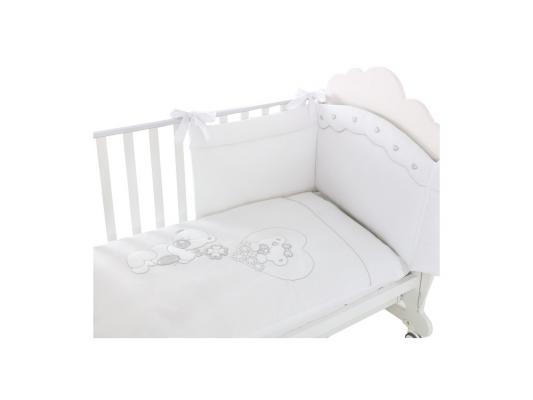 Постельный сет Baby Expert Serenata (белый)