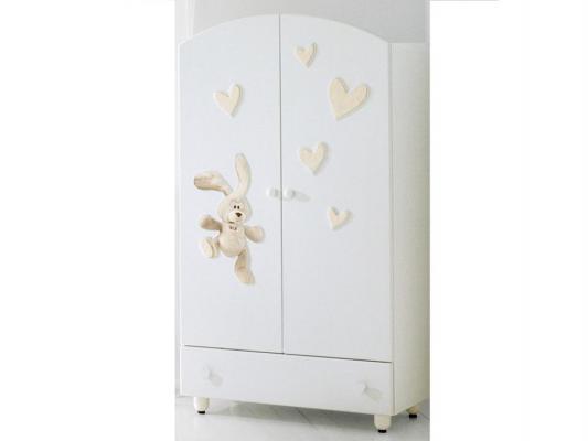 Шкаф двустворчатый Baby Expert Cremino (белый)