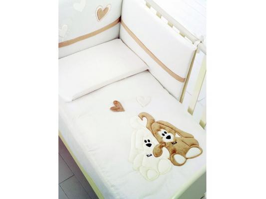 Комплект постельного белья 3 предмета Baby Expert Cremino (крем/1COCRELENZ 01) baby expert cremino