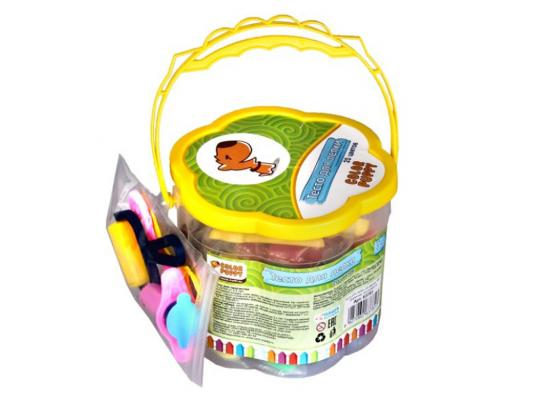 Тесто для лепки: 20 цветов, 560г, формочки, инструменты Color Puppy 63781 всё для лепки color puppy тесто для лепки 26 цветов 442 г формы ролик