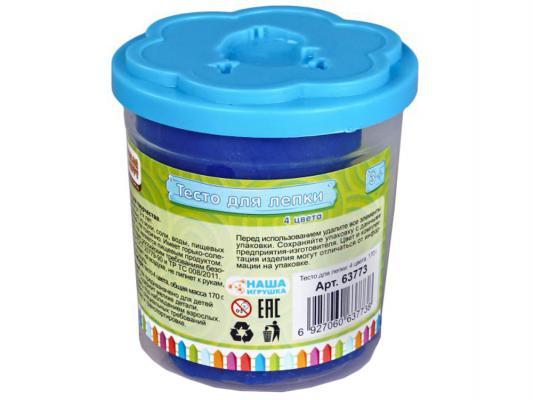 Купить Тесто для лепки Color Puppy 63773 4 цвета, Тесто и масса для лепки