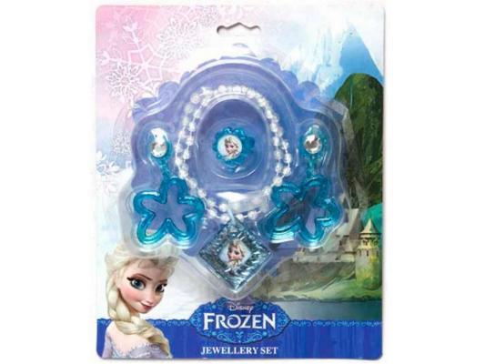 Набор украшений Boley Холодное сердце - Колье, колечко, серьги 3 предмета 82543