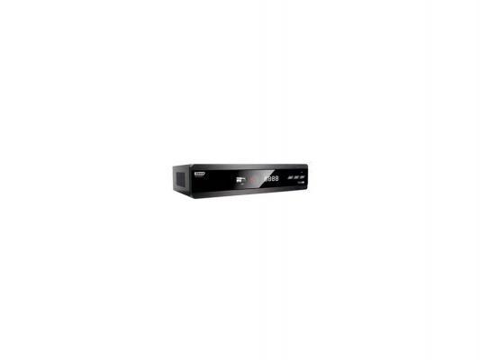 Тюнер цифровой DVB-T2 Сигнал Эфир HD-600 черный