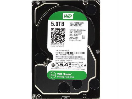 "Жесткий диск 3.5"" 5 Tb 5400rpm 64Mb cache Western Digital Blue SATAIII WD50EZRZ"