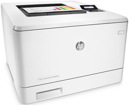 Принтер HP Color LaserJet Pro M452nw CF388A цветной A4 28ppm 600x600dpi 256Mb Ethernet Wi-Fi USB принтер hp color laserjet pro m 452 nw cf 388 a
