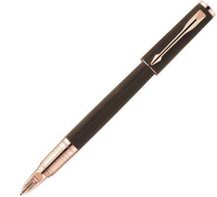 Ручка 5й пишущий узел Parker Ingenuity S F501 чернила черные корпус коричневый S0959070