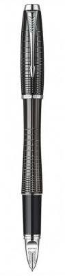 Ручка 5й пишущий узел Parker Urban Premium F504 чернила черные корпус черный S0976050