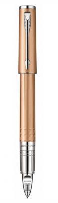 Ручка 5й пишущий узел Parker Ingenuity F501 чернила черные корпус золотистый S0959080
