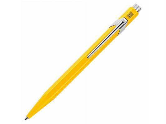 Шариковая ручка автоматическая Caran D'Ache Office 849 синий M Classic 849.010_MTLGB