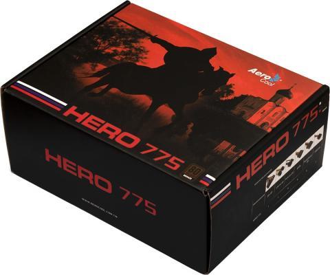 БП ATX 775 Вт Aerocool Hero 775 цена