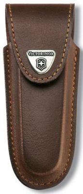 Чехол Victorinox 4.0538 для ножей 111мм толщиной 5-8 уровней кожа коричневый 4.0538
